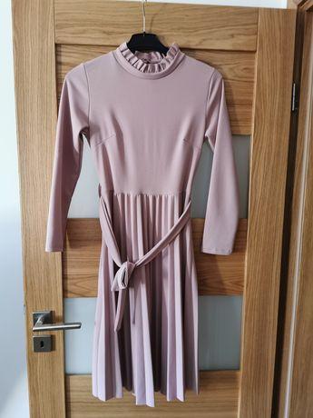 Sukienka brudny róż, rozmiar M