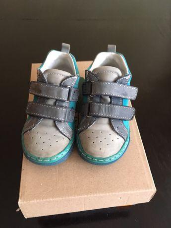 Buty chłopięce skórzane Renbut, rozm.21
