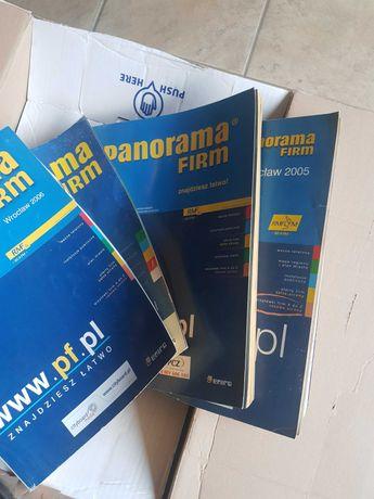 Książki telefoniczne-Panoramy firm wieksza ilość