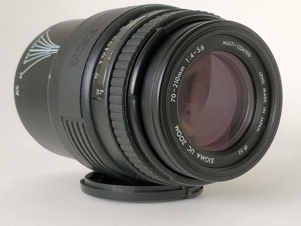 Obiektyw SIGMA UC ZOOM 70-210mm F/4-5.6 CANON