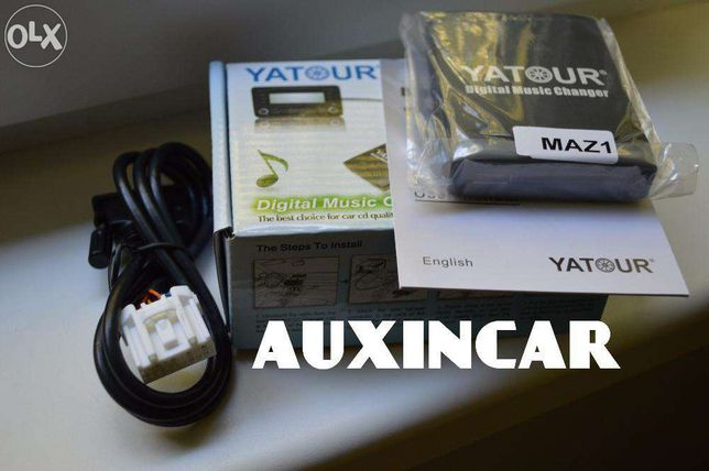 адаптер usb aux Ятур Yatour M06 для Mazda с кнопкой Media или Tape/md