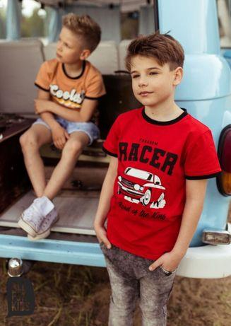 All for Kids T-shirt czerwony