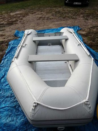 Ponton gumowo aluminiowy JAGO schlauchboot slbt01ab