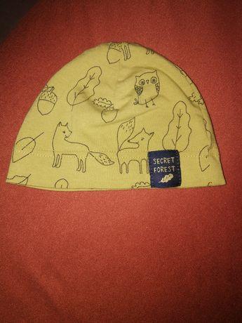 Czapeczka czapka niemowlęca secret forest