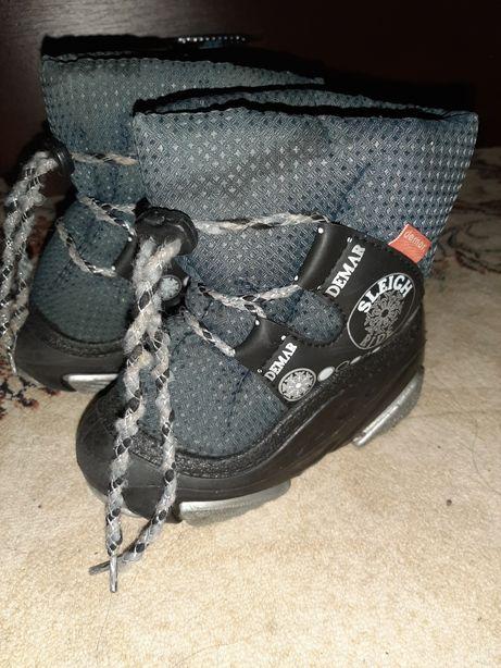 Демары, зимняя обувь