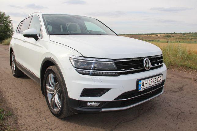 Volkswagen Tiguan Allspace SEL 7 MECT 2019 3 тыс км Кредит