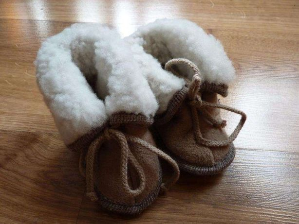 Cieplutkie buciki dla maluszka