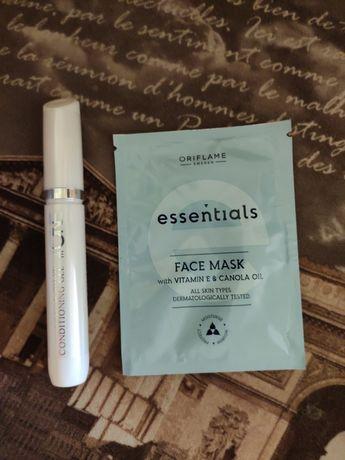 Гель-кондиционер для бровей и ресниц + маска для лица