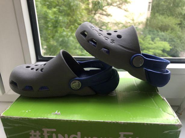 Crocs детские C8  electro Сабо