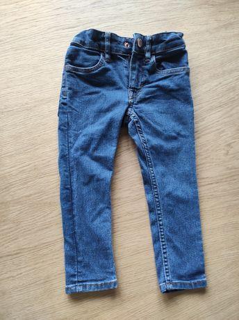 Spodnie dżinsowe H&M, r. 92