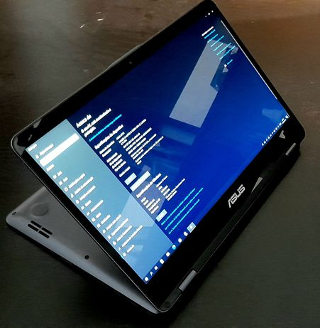 "Asus Portátil Touch Híbrido 14"" + EXTRAS"