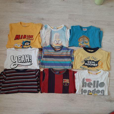 Zestaw koszulek /t-shirt dla chłopca 110/116