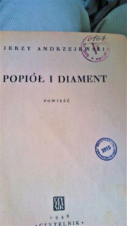 """Jerzy Andrzejewski ,,Popiół i Diament"""""""
