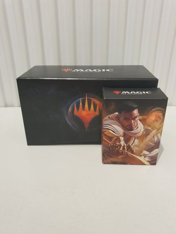Magic the Gathering Basri Planeswalker deck+booster+ pudełko+kostki