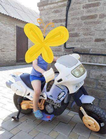 Детский электро скутер