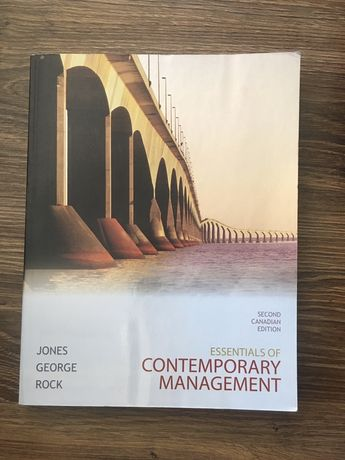 "Książka ""Essentials of contemporary Management"""