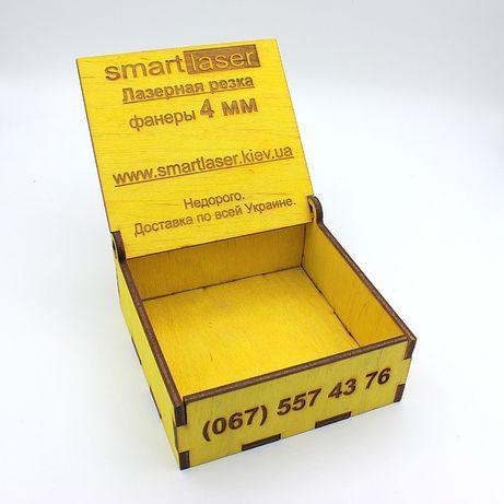 Лазерная резка фанеры, акрила, пенопласта, картона