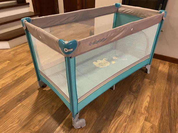 Łóżeczko turystyczne Baby Design Simple 2 sztuki Łóżeczka Stan idealny