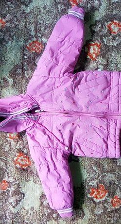 Куртка зимова і джинси осінні на дівчинку