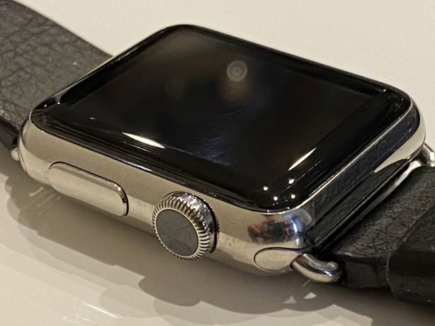 Apple watch 1 38mm. stainless steel.