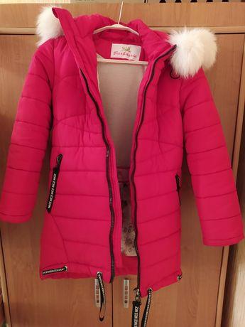Пальто зимние для девочки ТМ Барбарис
