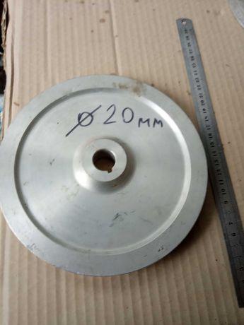 шкив дюралевый (195х20мм), новый