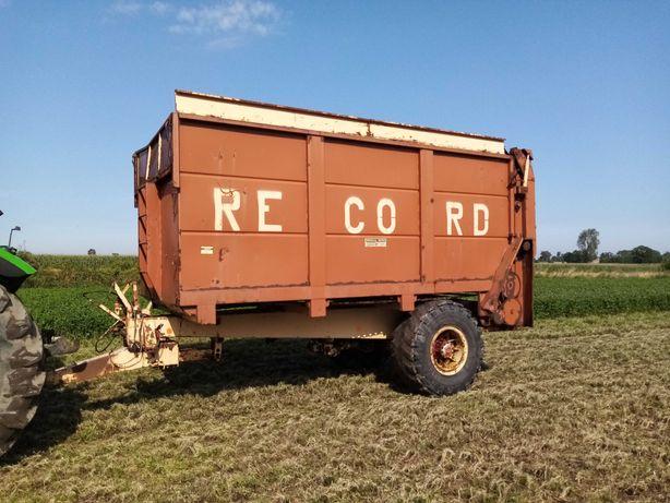Przyczepa rolnicza, objętościowa, rozrzutnik obornika, RECORD NEW HOLL