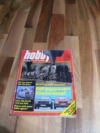 Stara gazeta Hobby magazyn techniczny. 27 pażdziernik 1980 rok.