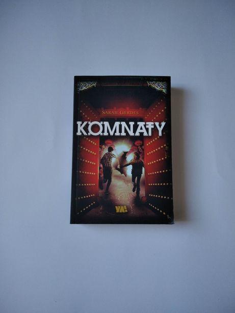 NOWA Komnaty Sarah Gerdes książka powieść GW Foksal