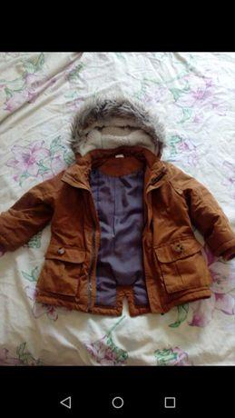 Парка-куртка на мальчика