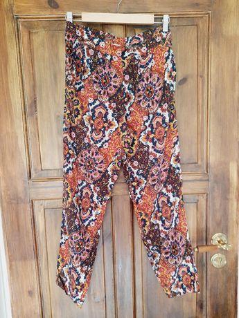Spodnie materiałowe alladynki 36 H&M