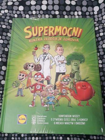 Supermocni kompendium wiedzy o żywieniu- książka/komiks