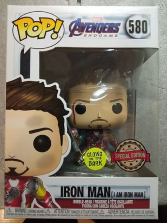Funko Pop Figure - Iron Man #580 Special Edition (Glows in the dark)