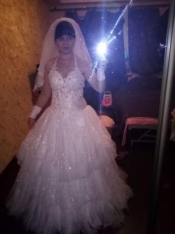 Свадебный наряд весь комплект