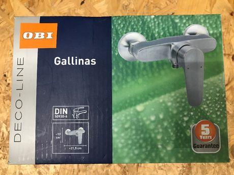OBI Bateria prysznic. Gallinas inox 69,98zł (wcześniej 239zł)