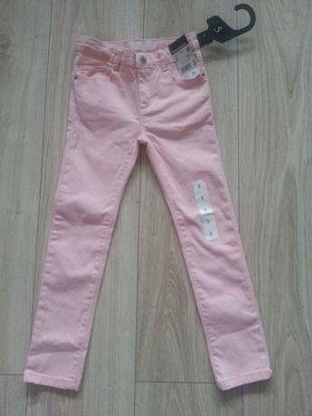 Spodnie dziewczęce rozmiar 107-113 cm 5lat nowe z metką