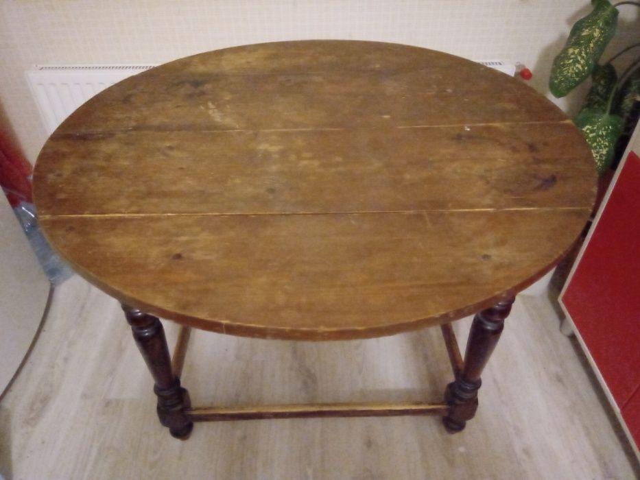 Круглый стол из дерева деревяный Одесса - изображение 1
