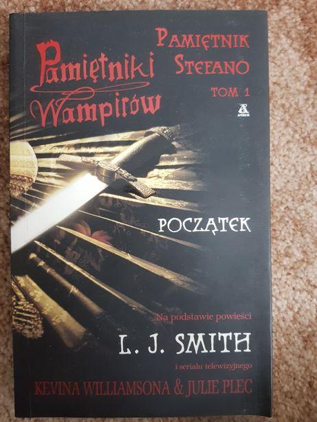 Pamiętniki wampirów Pamiętnik Stefano tom 1 Początek