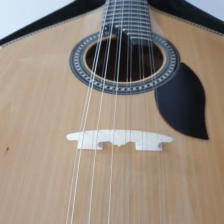 Guitarra portuguesa fado Lisboa + Estojo