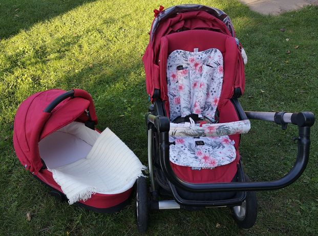Baby Design Lupo Comfort gondola spacerówka zadbany wyprany składany
