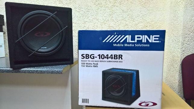 Сабвуфер Alpine SBG-1044BR