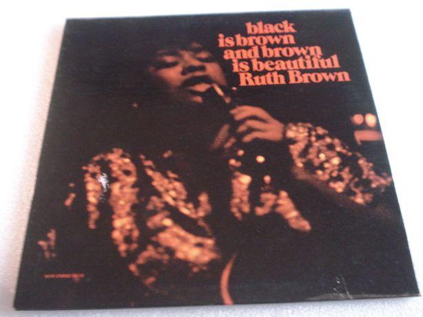 Vinil LP Ruth Brown - Black is Brown and Brown is Beautiful - Raro
