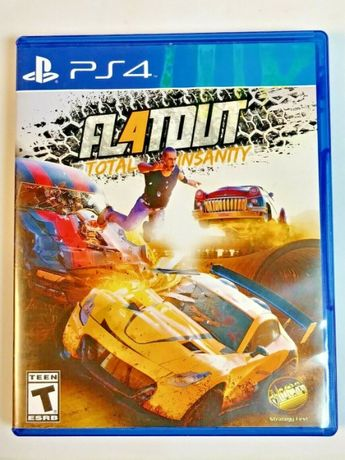 Игра диск PS4 FlatOut 4 - Total Insanity (Флэтаут)