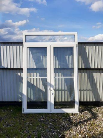 Drzwi okno tarasowe ze szprosem 153x222 zimowy ogród DOWÓZ CAŁY KRAJ