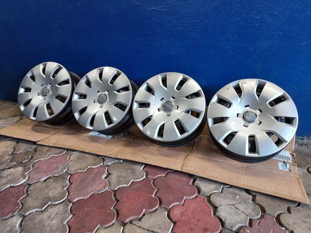 Felgi stalowe R16 5×112 Audi, VW +kołpaki