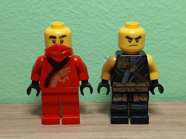 2 figurki lego ninjago niekompletne