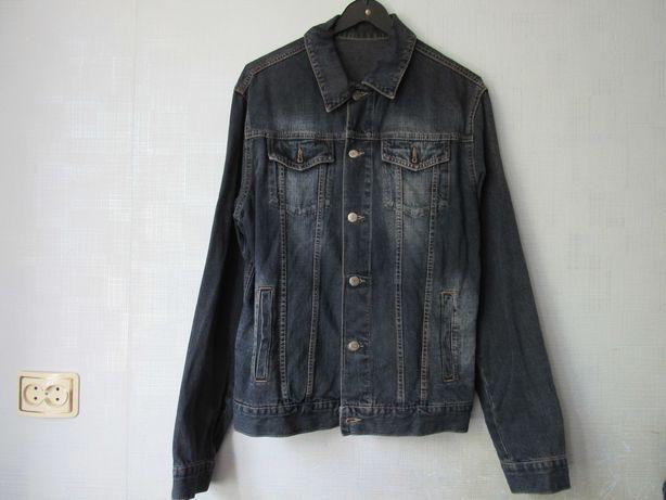 Джинсовая куртка мужская 46 размер