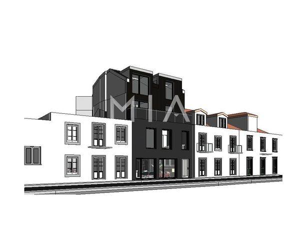 Edifício com projeto aprovado - São José
