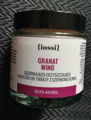 Granat Wino. Ujędrniająco – oczyszczająca maseczka z czerwoną glinką