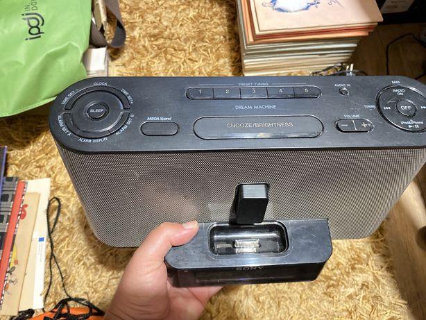Radio - despertador + extensao iphone - SONY